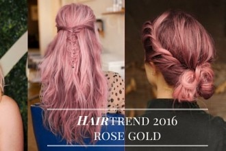 hairtrend pink hair rose gold