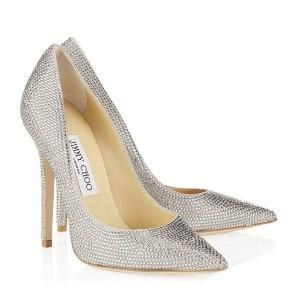 jimmy choo chrystal scarpe da sposa