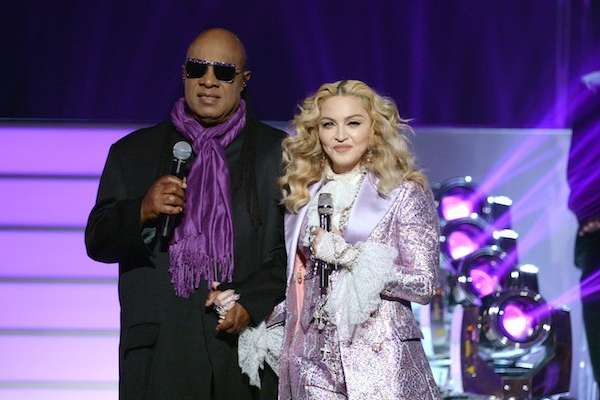 billboard music awards 2016 madonna stevie wonder