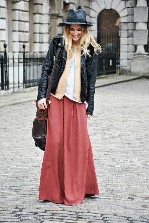 pretty nice 4fd60 b03e9 Come indossare le gonne lunghe | WEGIRLS