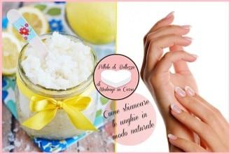 Come sbiancare le unghie in modo naturale