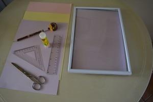 Occorrente DIY quadretti