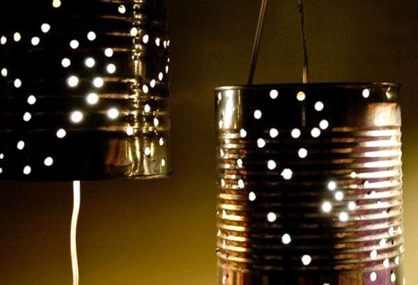 Lampada Barattolo Di Latta : Come riutilizzare i barattoli di latta wegirls