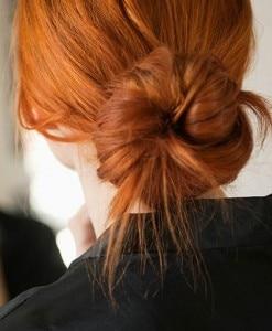 idee capelli chignon facili
