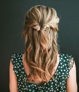 idee chignon capelli topsy tail