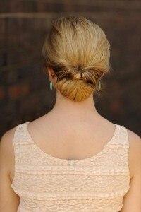 idee chignon capelli tospy tail