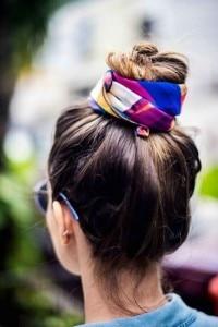 idee facili capelli chignon