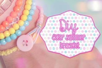 Diy Color summer bracelet