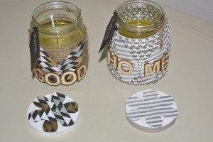 Diy: candele con cera di soia