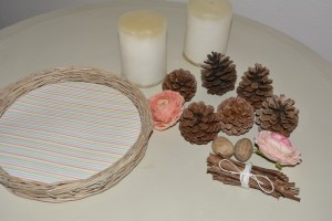 Diy 3: materiale per centrotavola