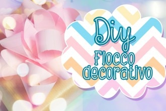 fiocco decorativo diy