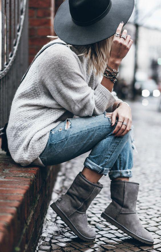 come indossare stivali ugg boots