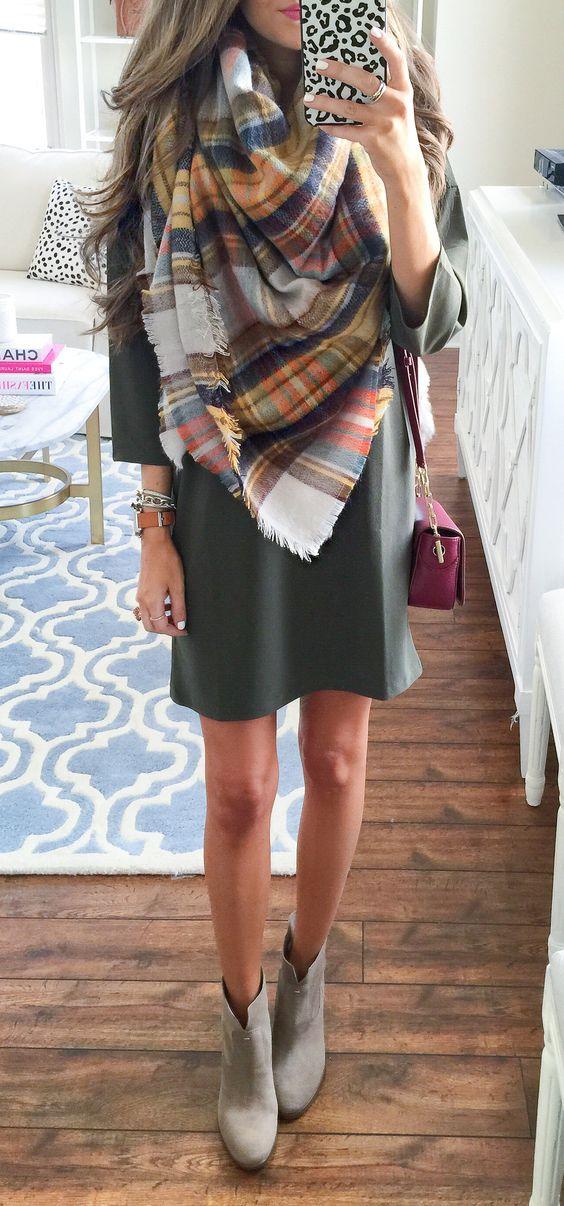 nuovo autentico outlet vendita outlet come indossare una sciarpa: idee outfit autunno | WEGIRLS