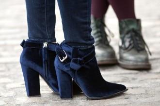 scarpe velluto