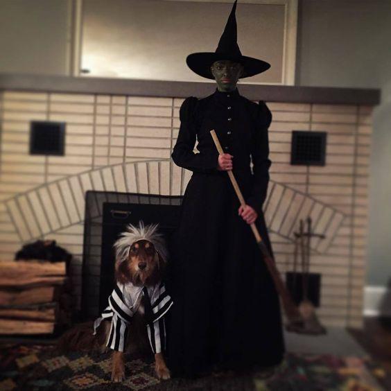 costumi halloween originali strega dell'ovest mago di Oz
