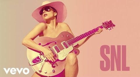 lady gaga saturday night live video