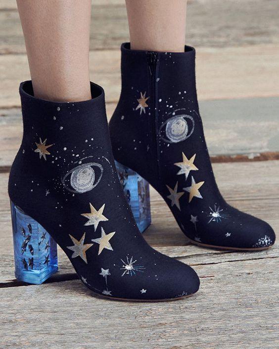 stivaletti ricamati moda scarpe inverno 2016