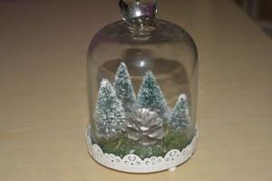 addobbi natalizi Campana di vetro