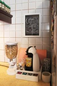 organizzare spazio cucina