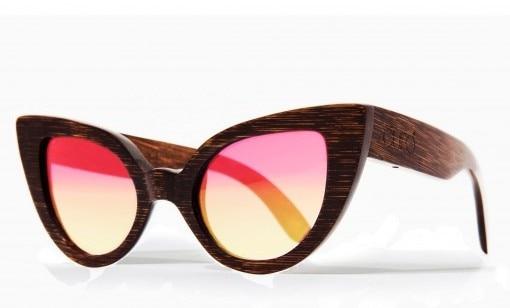 occhiali da sole legno gufo must have 2017