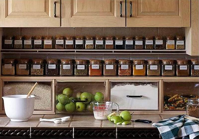 Organizzare la cucina: 5 consigli utili per ottenere più spazio ...
