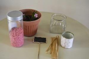 Occorrente per composizione di primavera coi giacinti