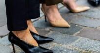v neck shoes