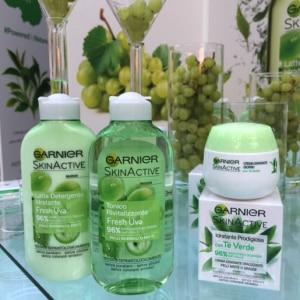 Garnier skincare fresh uva