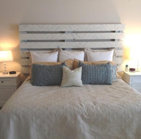 Testate da letto fai da te idee e consigli foto wegirls - Testata letto fai da te ...