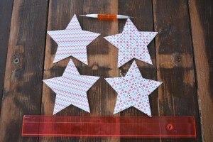 decorazioni natalizie stelle di carta