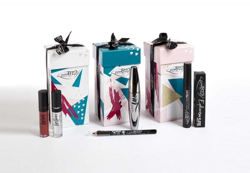 Cofanetti trucco PuroBio cosmetics