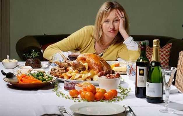 bruciare calorie durante le feste