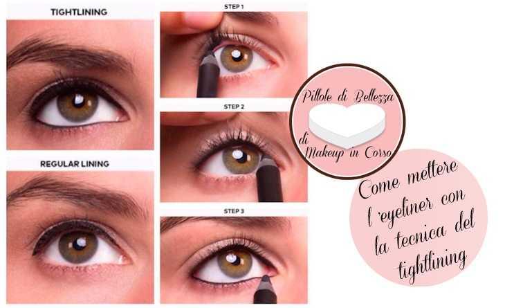 Come mettere l'eyeliner con la tecnica del tightlining