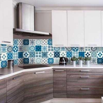 Sticker adesivi il nuovo modo per cambiare look alla casa - Adesivi per piastrelle ...