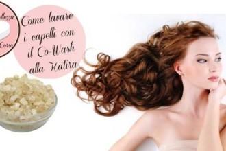 Come lavare i capelli con il Co-Wash alla Katira