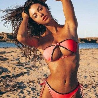 bikini upside down