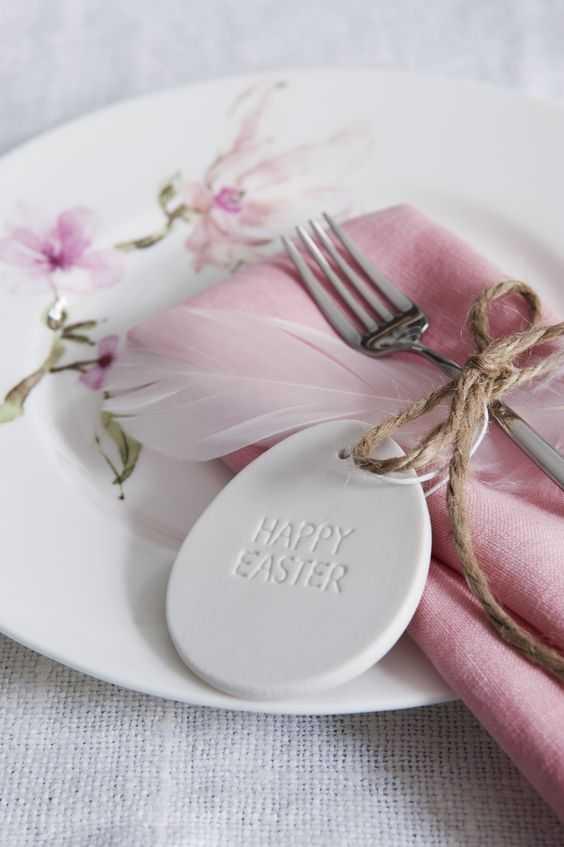 Come decorare la tavola di Pasqua