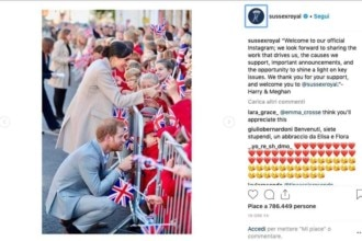 Principe Harry Megan Markle Instagram
