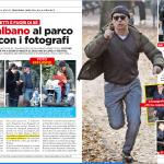 Luca Zingaretti vs paparazzi - Real Paparazzi