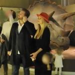 Michelle Hunziker tra dinosauri e ricordi - Real Paparazzi